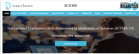 International Conference on E-Assessment in Mathematical Sciences (ICEMS-19)