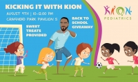KION Pediatrics-KICKING IT WITH KION Event