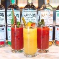 Build Yr Own Bloody Mary Bar- Hanson of Sonoma Organic Distillery Aug 17-18