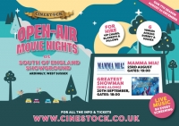 Mamma Mia! open-air movie night at South of England Showground