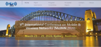 9th International Conference on Mobile & Wireless Networks (MoWiN 2020)