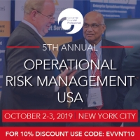 CeFPro 5th Annual Operational Risk Management - October 2-3, 2019 | NYC