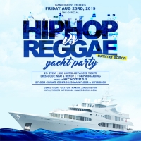 New York City Hip Hop vs. Reggae Summer Yacht Party at Skyport Marina