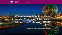 9th International Conference on Advanced Computer Science and Information Technology (ICAIT 2020)
