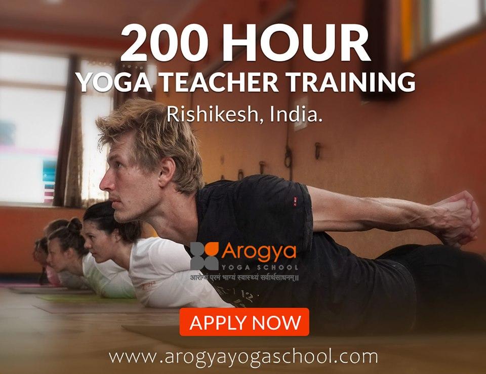200 Hour Yoga Teacher Training in Rishikesh, Dehradun, Uttarakhand, India
