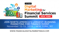 The 6th Annual Digital Marketing for Financial Services Summit New York