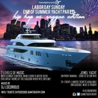 NYC Hip Hop vs. Reggae Labor Day Weekend Yacht Party 2019
