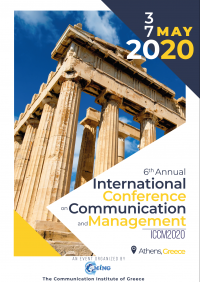6th International Conference on Communication and Management (ICCM2020)