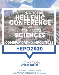 2nd International Hellenic Conference on Political Sciences: Communicating in Politics?