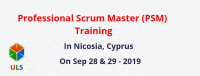 Professional Scrum Master (PSM) Certification Training Course in Nicosia, Cyprus