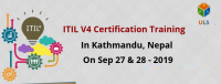 ITIL V4 Foundation Certification Training Course in Kathmandu, Nepal