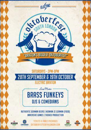 Oktoberfest South London, London, United Kingdom