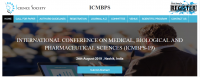 INTERNATIONAL CONFERENCE ON MEDICAL, BIOLOGICAL AND PHARMACEUTICAL SCIENCES (ICMBPS-19)