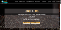 International Conference on English Historical Linguistics (ICEHL-19)