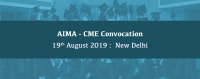 AIMA - CME Convocation, 19 August 2019, New Delhi