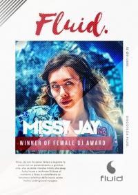 Missy Jay WINS Italian Female DJ Awards performance at Fluid Bergamo