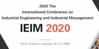 2020 The International Conference on Industrial Engineering and Industrial Management (IEIM 2020)