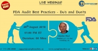FDA Audit Best Practices - Do's and Don'ts