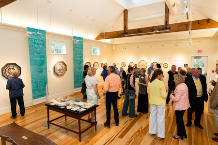 Art Exhibition Opening Reception, Barnstable, Massachusetts, United States