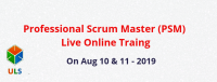 Professional Scrum Master (PSM) Live Online Training Course