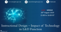 [Webinar] Instructional Design – Impact of Technology in L&D Function