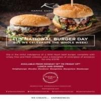 National Burger #WEEK