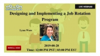 Designing and Implementing a Job Rotation Program