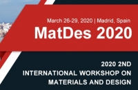 2020 2nd International Workshop on Materials and Design (MatDes 2020)