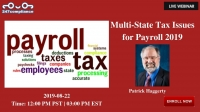 Multi-State Tax Issues  for Payroll 2019