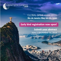 The Global Spine Congress (GSC), Rio de Janiero 2020