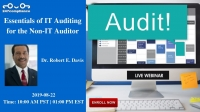 Essentials of IT Auditing for the Non-IT Auditor