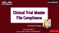 Clinical Trial Master File Compliance