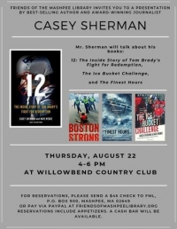 Casey Sherman Author Event