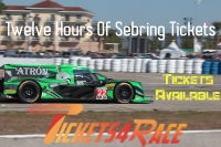 Cheapest Twelve Hours Of Sebring Tickets