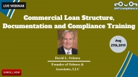 Commercial Loan Structure, Documentation and Compliance Training