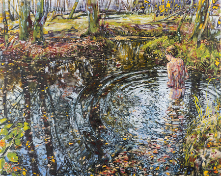 Dominic Shepherd | Downstream | Solo Exhibition | CHARLIE SMITH LONDON, Shoreditch, London, United Kingdom