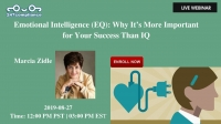 Emotional Intelligence (EQ) : Why It's More Important for Your Success Than IQ