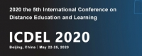 2020 the 5th International Conference on Distance Education and Learning (ICDEL 2020)