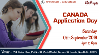 Canada Application Day – 7th September'19