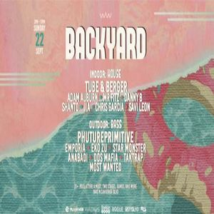 Backyard w/ Tube and Berger and PHUTUREPRIMITIVE, Los Angeles, California, United States