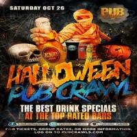 Houston Halloween Weekend Pub Crawl - October 2019