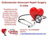 Why India for Endovascular Aneurysm Repair Surgery?