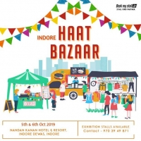 Haat Bazaar 2019- Street Shopping with Regional Food at Indore - BookMyStall