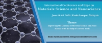 International Conference and Expo on Materials Science and Nanoscience