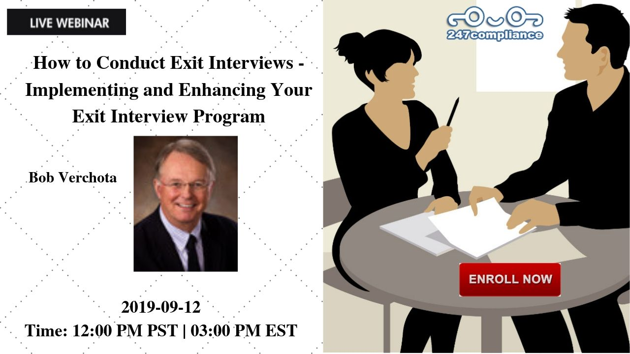 How to Conduct Exit Interviews - Implementing and Enhancing Your Exit Interview Program, Newark, Delaware, United States