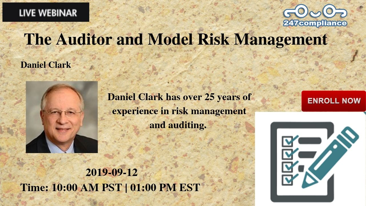The Auditor and Model Risk Management, Newark, Delaware, United States