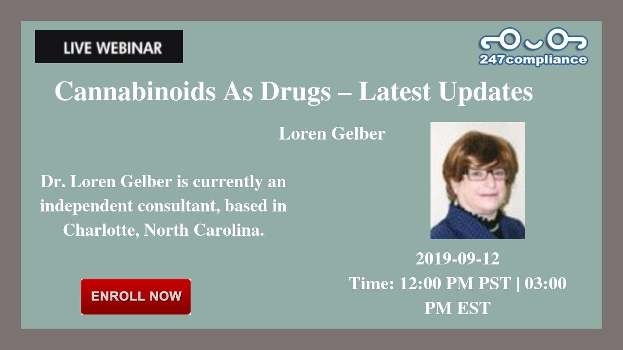 Cannabinoids As Drugs – Latest Updates, Newark, Delaware, United States