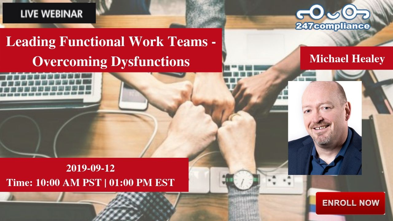 Leading Functional Work Teams - Overcoming Dysfunctions, Newark, Delaware, United States