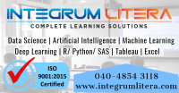 Advanced Certification in Data Science and AI at Integrum Litera