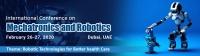 Conference on Mechatronics and Robotics